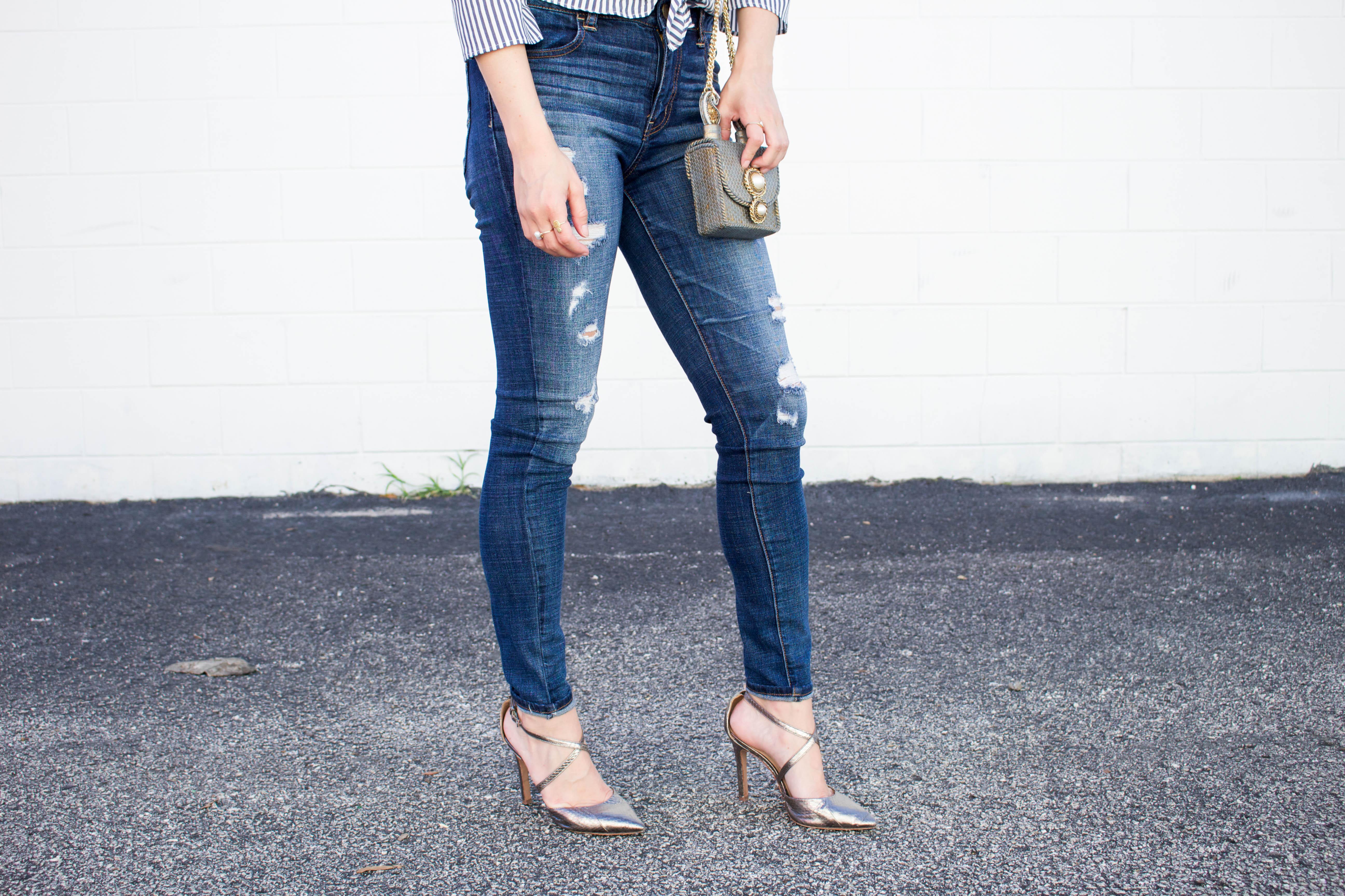 Metallic_Silver_Heels_American_Eagle_Jeans