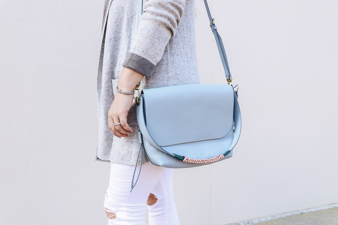 The perfect shade of blue purse